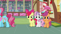 CMC somepony watching S2E17