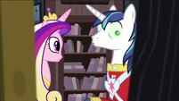 Cadance 'feeling better' S2E25