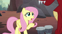 """Fluttershy """"is that why you pick on Spike?"""" S9E9"""