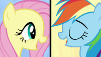 """Fluttershy and Rainbow """"we've got quirks"""" S7E14"""