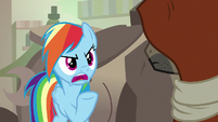 """Rainbow """"what did Daring Do ever do to you"""" S7E18"""