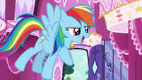 """Rainbow Dash """"we're here to remind you"""" S7E19"""