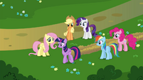 "Rarity ""Another visit to the Castle of the Two Sisters, I presume?"" S4E26"