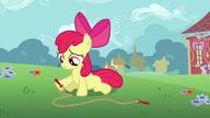 S02E18 Apple Bloom nie ma z kim skakać na skakance