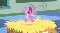 Spike yawning S1E23