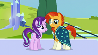 Starlight --I can't think of anypony more qualified-- S6E2