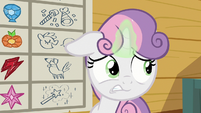 Sweetie distressed by Cozy Glow's wrong answer S8E12