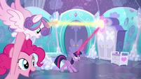 Twilight intercepts Flurry Heart's magic a third time S6E1