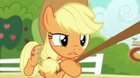 "Applejack ""what? of course!"" S6E10"