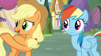 Applejack -not bein' able to play- S8E18