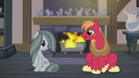 Big Mac and Marble about to speak S5E20