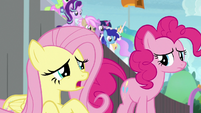 """Fluttershy """"being nervous is a good sign"""" S9E15"""