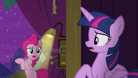 """Pinkie Pie """"from Trixie at midnight"""" S8E7"""