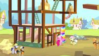 Pinkie Pie as a construction pony S4E12