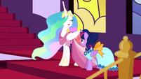 """Princess Celestia """"I am quite looking forward"""" S5E7"""