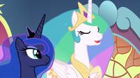 """Princess Celestia """"it is time for us..."""" S9E1"""