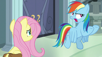 """Rainbow Dash """"from the bad guy"""" S9E21"""