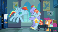 """Rainbow Dash """"ridiculous, insignificant thing I do!"""" S7E7"""