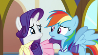 Rarity and Rainbow answer differently again S8E17