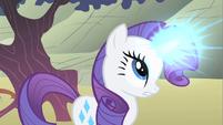 Rarity uses her magic S1E19
