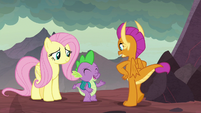 """Spike """"we're gonna be best buddies"""" S9E9"""