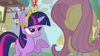 """Twilight and Fluttershy """"but you DO know"""" S03E13"""