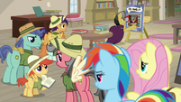Daring Do fans at A.K.'s book signing S9E21