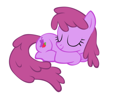 FANMADE Berryshine sleeping by SierraEx.png