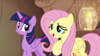"""Fluttershy """"if you don't take care of yourself"""" S7E20"""