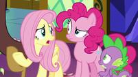"Fluttershy ""tell Celestia and Luna"" S9E1"