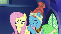 Mage Meadowbrook praising Fluttershy S7E26