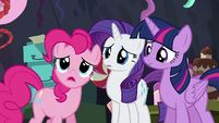 """Pinkie """"I worked harder on this party than any party ever"""" S5E11"""