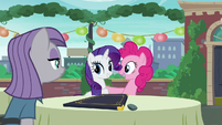 """Pinkie acting """"You are very welcome, Rarity!"""" S6E3"""