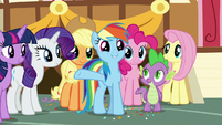 "Rainbow ""made a difference for everypony"" S9E12"