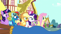 Rainbow Dash -really nervous to tell you- S8E18