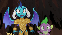 Spike and Ember in shock S6E5