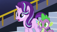Starlight asks Pillars about the Pony of Shadows S7E26