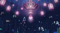 Twilight, Terramar, and CMC swim to seapony houses S8E6