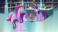Cadance --Do you think you can remember the spell--- S6E2