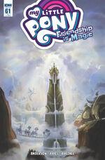 Comic issue 61 cover RI