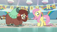 "Fluttershy ""black, green, red, and blue"" S9E7"