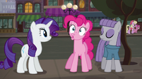 Pinkie Pie accentuating --W-- sound S6E3