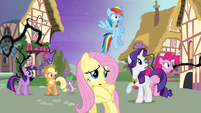 Ponies frightened by the forest S4E02
