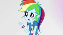 "Rainbow Dash ""you call that a freakout?"" EGS3"