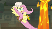 Second lava geyser appears next to Fluttershy S9E21