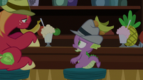 "Spike ""I don't think leaning's gonna help"" S8E10"