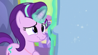 Starlight touched by Twilight's present S7E1
