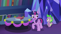 "Twilight ""Spike and I are heading downstairs"" S06E08"