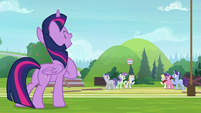 "Twilight ""breathe in the excitement!"" S9E15"