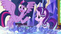 """Twilight """"we can forgive a little messiness"""" S7E25"""